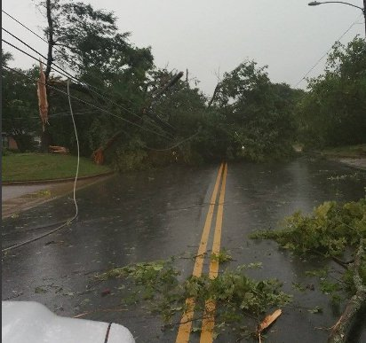 Rusk County storm damage 5-25-15