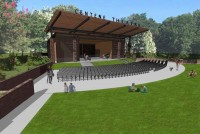 Amphitheater Stage Rendering