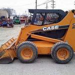 Case skid steer loader