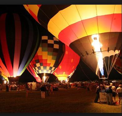 balloon glow-Christmas-Longview