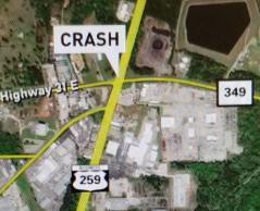 Map of Crash
